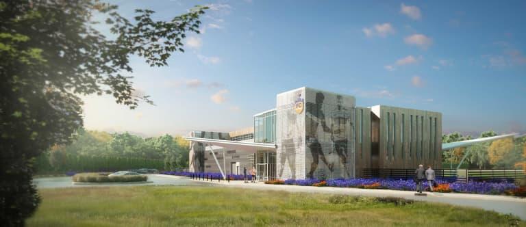 MLS expansion team FC Cincinnati reveal plans for training facility - https://league-mp7static.mlsdigital.net/images/FCCtrainingsideofbuilding.jpg