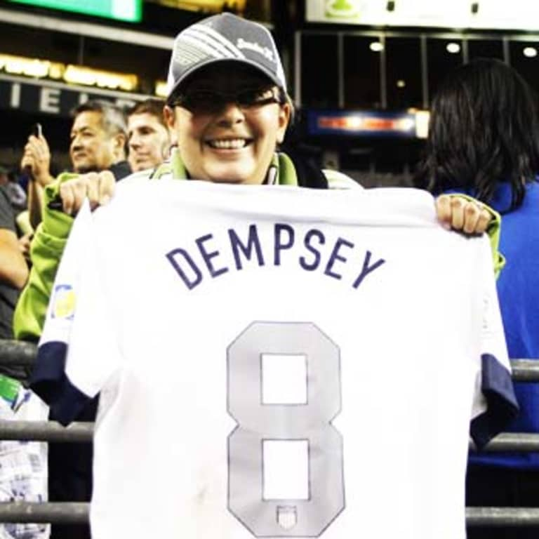 Clint Dempsey: Seattle Sounders star's life in pictures & words -