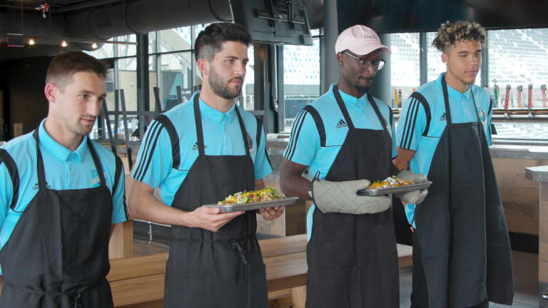 Minnesota United players go full Top Chef   By The Way pres. by Heineken - https://league-mp7static.mlsdigital.net/images/ContestantsBeforeJudging.jpg