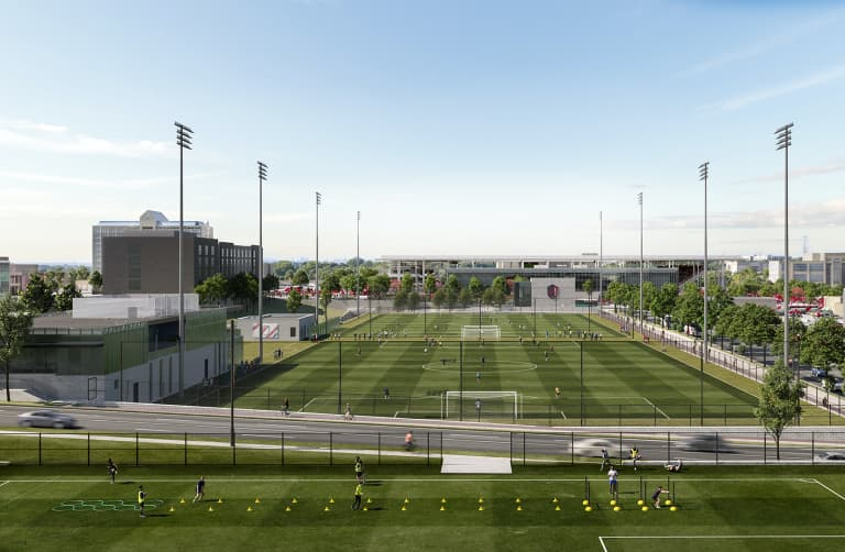 "St. Louis CITY SC crafting ""extremely unique"" downtown ""campus"" in construction of new stadium - https://league-mp7static.mlsdigital.net/images/stlCITYsc_ClarkLookingNorth.jpg?PPdUOZPI3Nc0QOMiFBf84OCKWMFzSyzn"