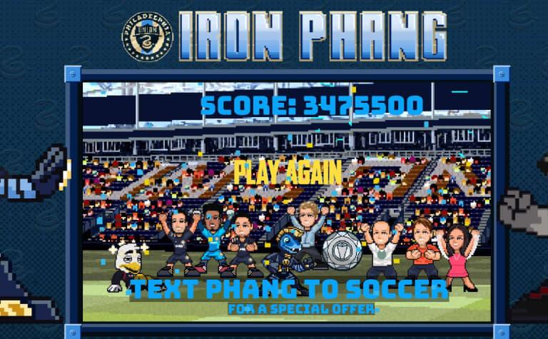 Sam High Score Iron Phang