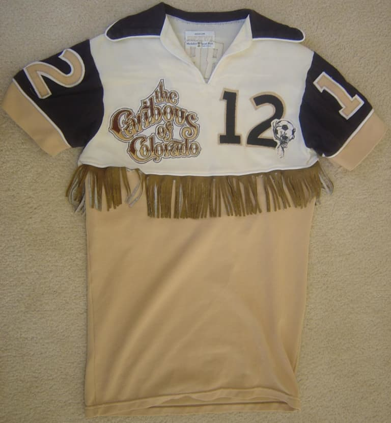 The strange but true story of the Caribous of Colorado and their unforgettable fringe uniforms -