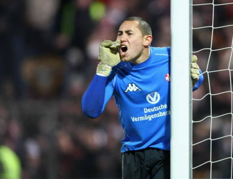 New York Red Bulls goalkeeper Luis Robles's long journey to Germany, to obscurity, and back -