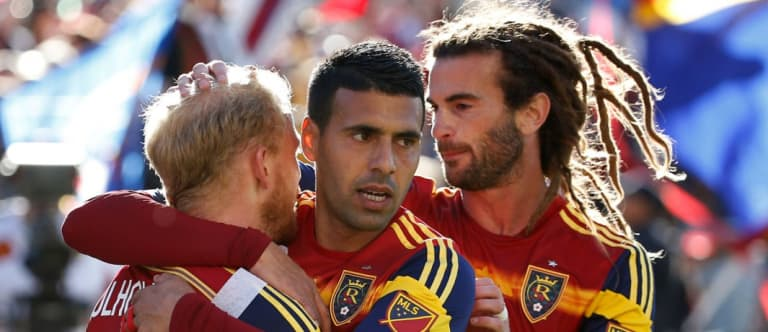 MLS iron man Kyle Beckerman has another mountain to climb with Real Salt Lake | THE WORD - https://league-mp7static.mlsdigital.net/styles/image_landscape/s3/images/RSL-with-Kyle.jpg?null&itok=tCmL_KId&c=4fe9f26752b43144c345f914b6298551