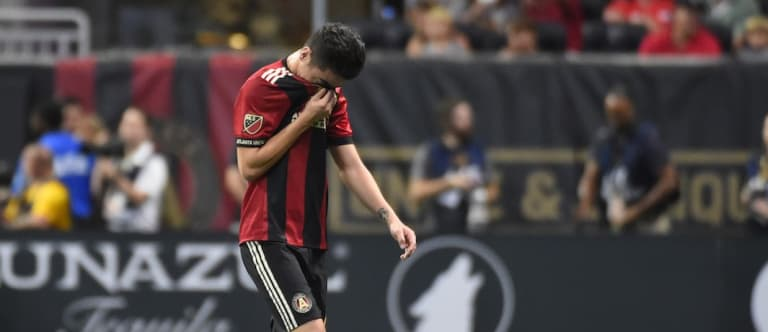 """Atlanta United brace for bad injury news about """"heartbeat"""" Miguel Almiron - https://league-mp7static.mlsdigital.net/styles/image_landscape/s3/images/Miguel%20Almiron%20injured-ATL-MTL-9.24.17.jpg"""
