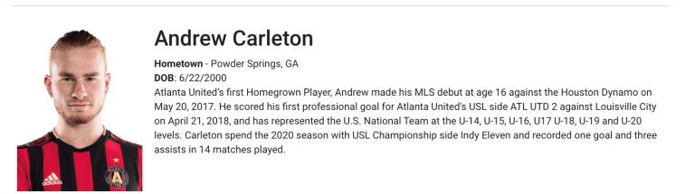 Carleton-Homegrown