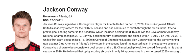 Conway-Homegrown