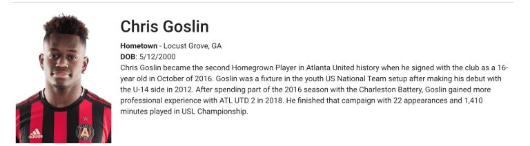 Goslin-Homegrown