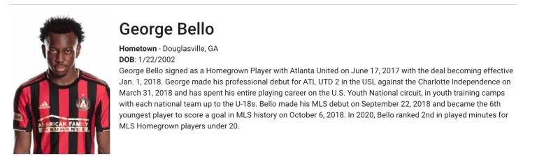 Bello-Homegrown