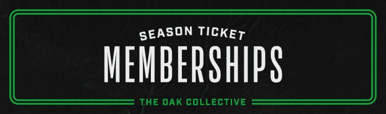 Season Ticket Memberships Header