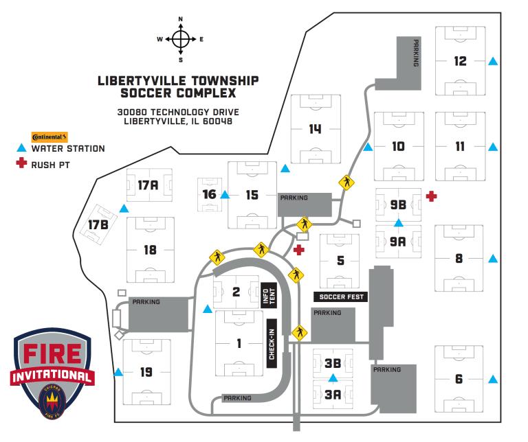 Fire Invite Field Map
