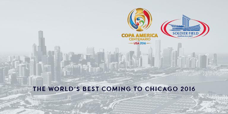 Chicago Selected as a Host City for 2016 Copa America Centenario -