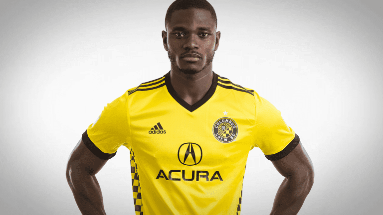 Crew SC returns to Gold, unveils new 2017 primary jersey  -