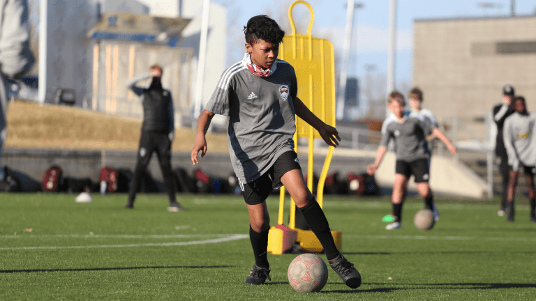 Rapids Academy Launches Futures Program Geared Toward the Optimal Development of Young Players Across the Denver Area  -