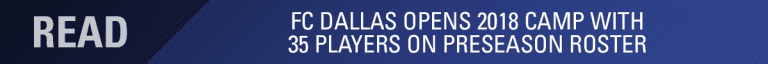 What We Might Expect from FC Dallas in Saturday's Friendly Against Chattanooga FC -