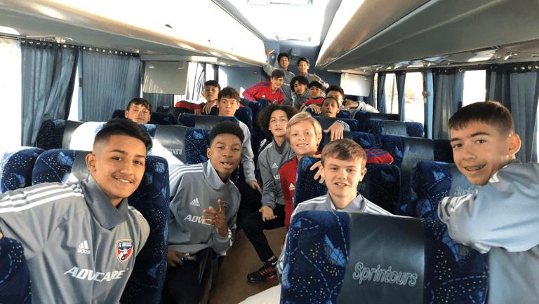 ACADEMY: Boys U-13s, U-14s, and U-15s Finish International Friendlies  -