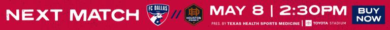 HOW TO WATCH: FC Dallas vs. Houston Dynamo | 5.8.21 -