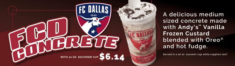 FC Dallas Birthdays, pres. by Andy's Frozen Custard -