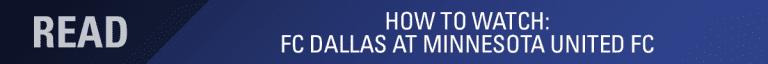 LINEUP NOTES: FC Dallas at Minnesota United FC | 6.29.18 -