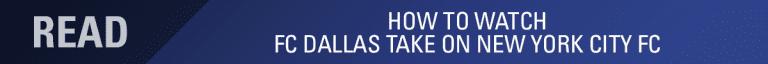 LINEUP NOTES, pres. by UnitedHealthCare: FC Dallas vs. New York City FC | 9.22.19 -