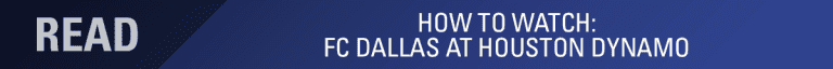 LINEUP NOTES: FC Dallas at Houston Dynamo | 8.23.18 -