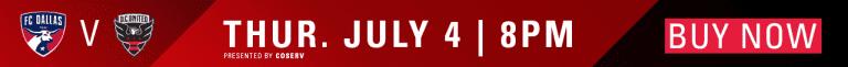 SET THE STAGE: FC Dallas vs. D.C. United | 7.4.19 -
