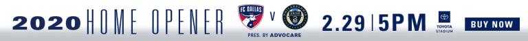 Matchday Guide: FC Dallas vs Philadelphia Union   2.29.20 -