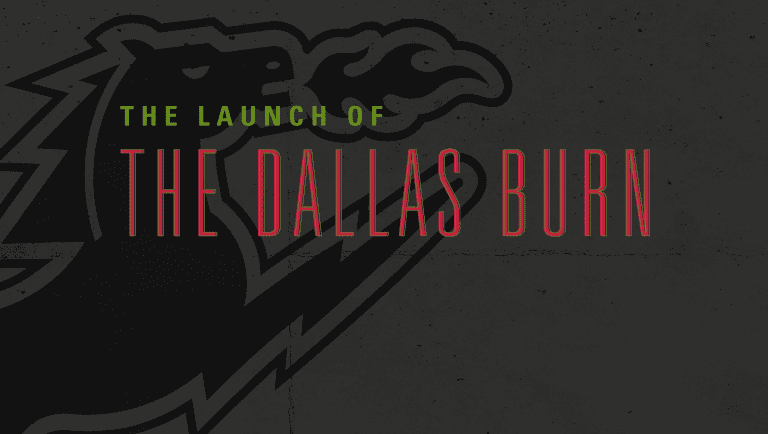 FC Dallas to Broadcast Second Match in Franchise History: FC Dallas vs. Kansas City Wiz | 4.18.96 -