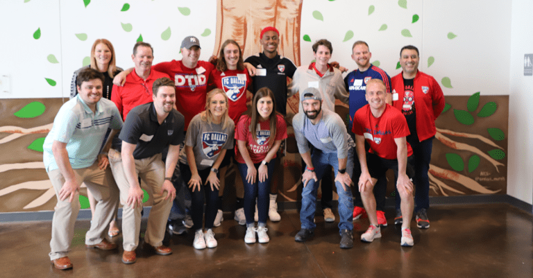 Players and Staff Continue 25 Days of Service at My Possibilities in Plano -