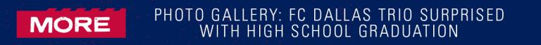 FC Dallas Surprises Dante Sealy, Beni Redzic and Ricardo Pepi with High School Graduation -