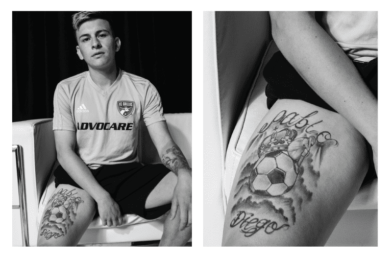 INK'D: Explore the Many Tattoos of FC Dallas and Learn Their Meanings -