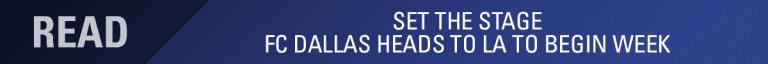 INJURY REPORT pres. by Texas Health Sports Medicine: FC Dallas vs LA Galaxy | 8.14.19 -