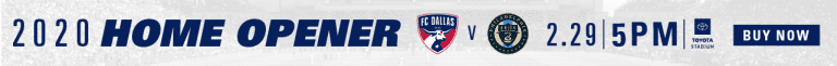 First Preseason Training Officially Marks the Start of the 2020 Season for FC Dallas -