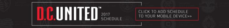 United announce 2017 preseason schedule -