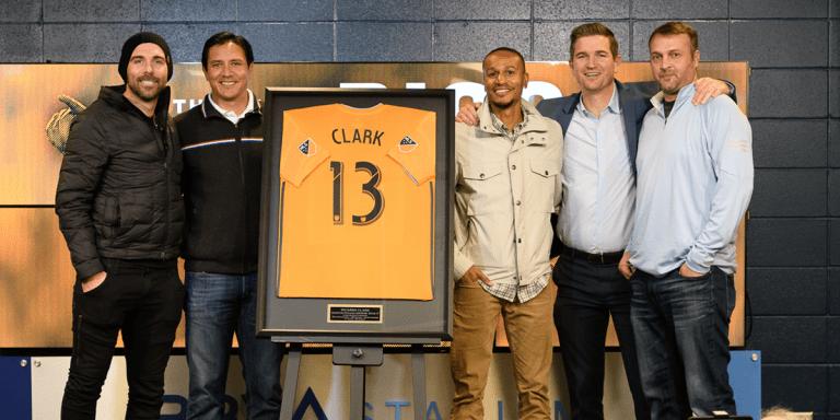 Ricardo Clark officially retires as a member of the Dynamo -
