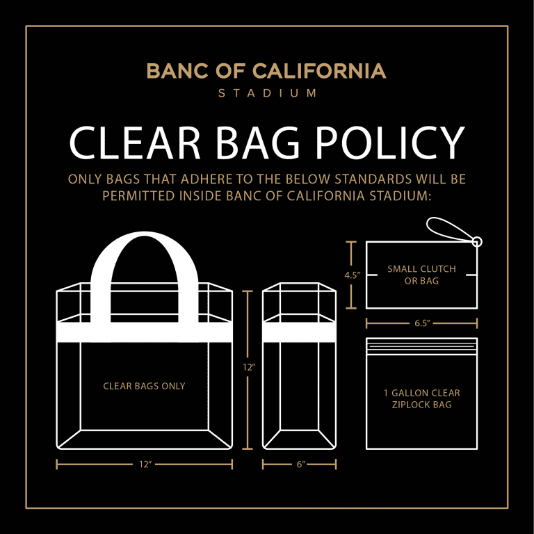 Clear Bag Policy -