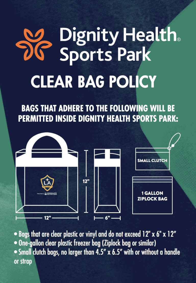 Bag Policy -