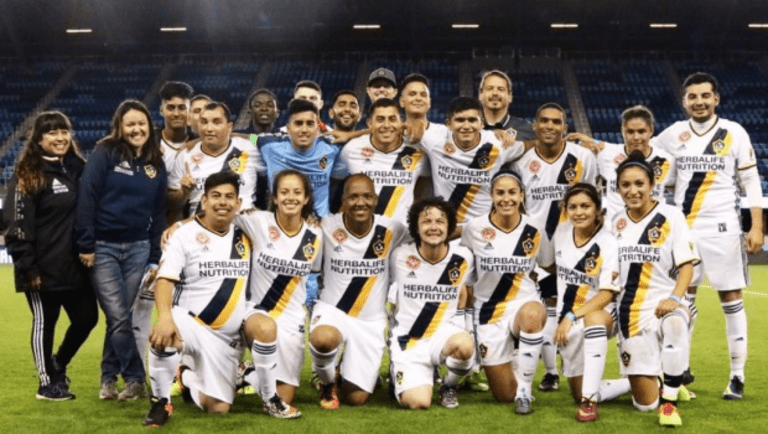 LA Galaxy Special Olympics Unified Team kick off 2017 season with a win -
