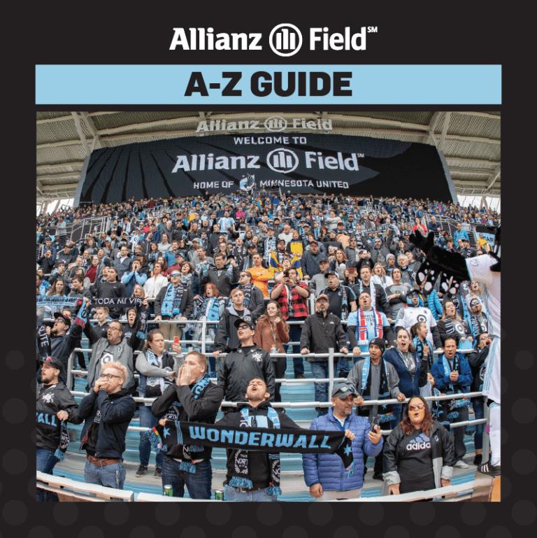 Game Guide: MNUFC vs. D.C. United - A-Z GUIDE