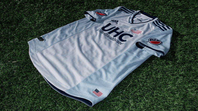 """New Year, New Kit: Introducing """"The Colonial"""" as the Revs' 2019-20 secondary -"""