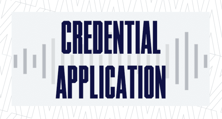 Credential Application 650x350