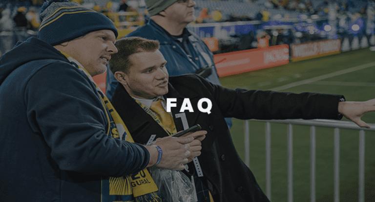 Ticket FAQ new