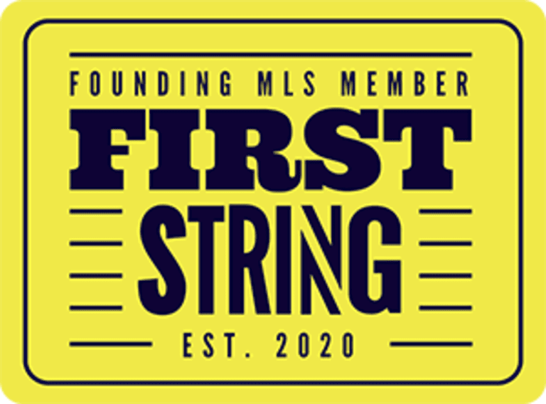 First String logo Yellow