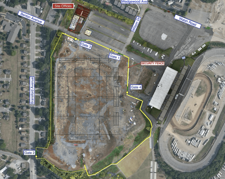 Weekly Nashville SC Stadium Update: November 6 -