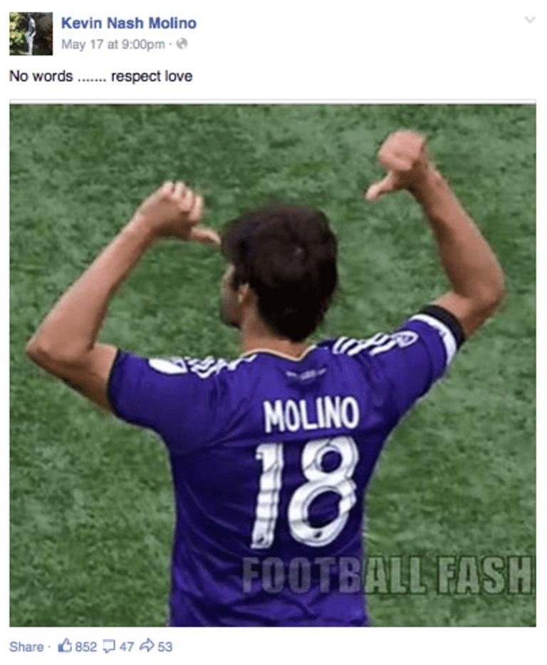 Kaká Dedicates Goal To Kevin Molino With Classy Tribute  -