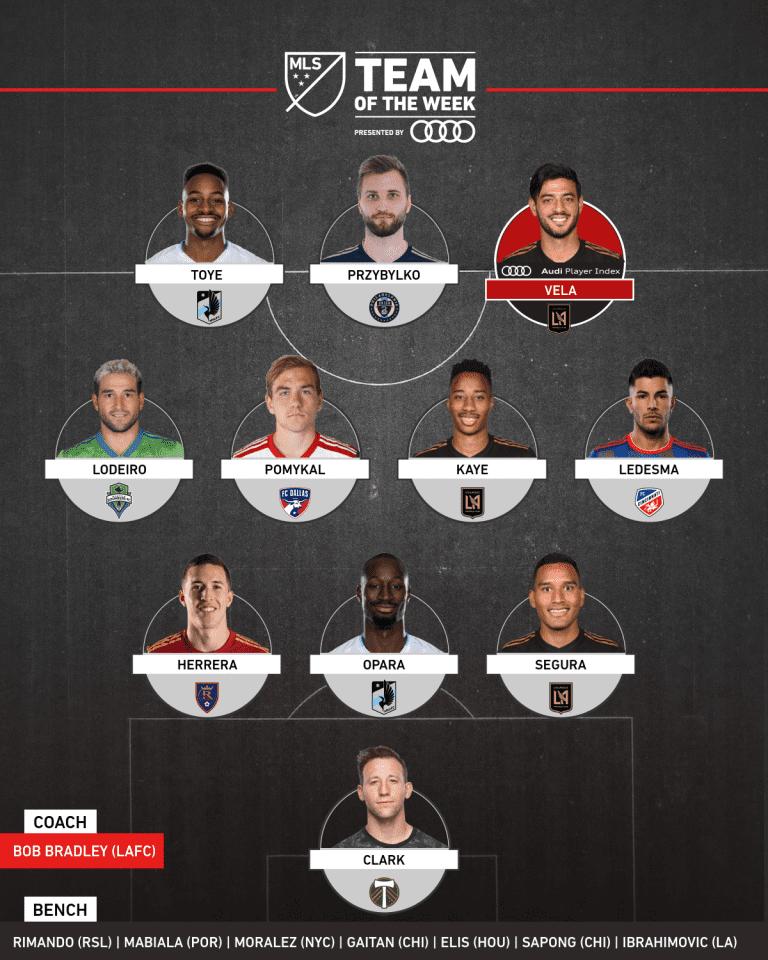 Timbers goalkeeper Steve Clark earns spot on MLS Team of the Week for Week 18 - https://league-mp7static.mlsdigital.net/images/totw-wk18-2019.png