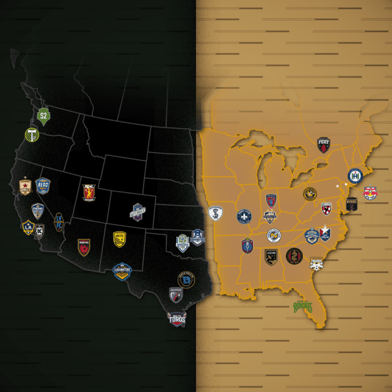 USL Championship unveils 2019 conference alignment -