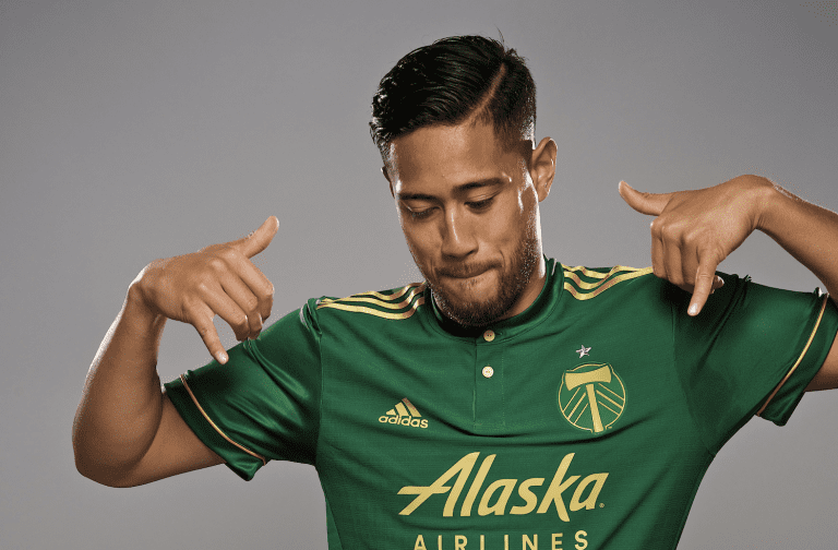 """""""Crazy road"""" sees defender Bill Tuiloma find a home in Portland Timbers green and gold -"""