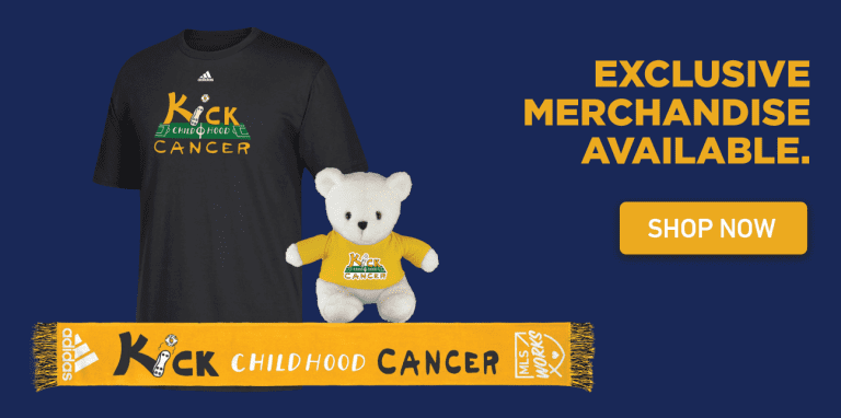 MLS WORKS' 5th-annual Kick Childhood Cancer campaign launches Saturday -