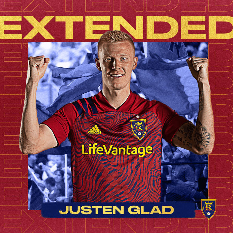 Real Salt Lake Signs Justen Glad to Contract Extension -